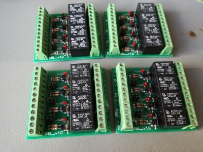 4_REL Блок реле с транзистором, 4 канала, LED