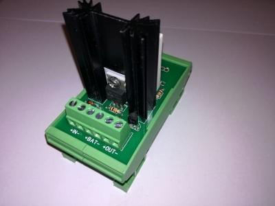 BCM_V1.0 Модуль контроля и зарядки аккумулятора