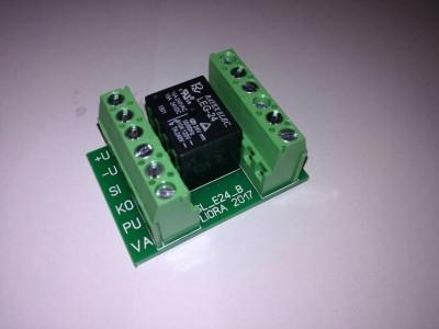 SL_E24 Модуль контроля приводов дымовых люков